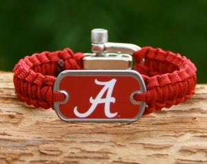 Alabama Collegiate Survival Strap